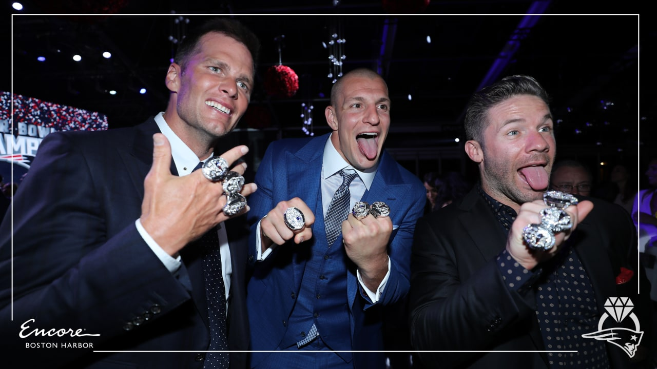 Patriots Show Off Super Bowl Liii Rings On Social Media