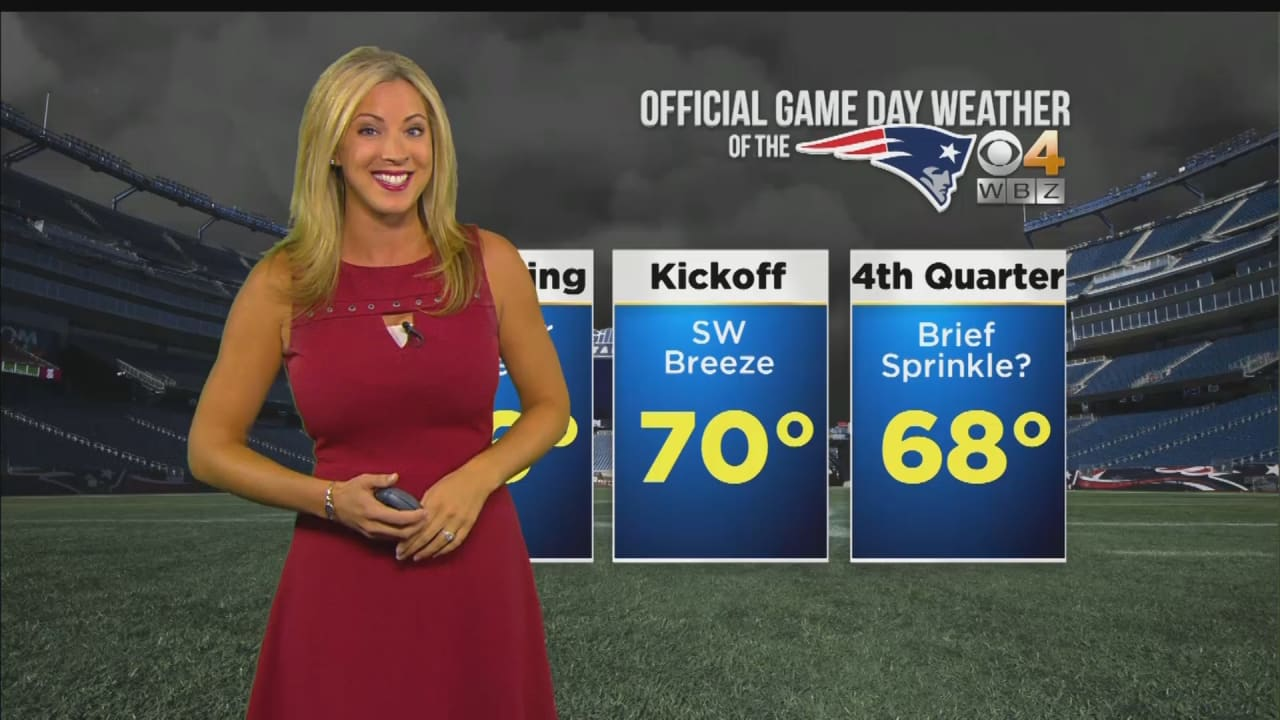 WBZ Weather Forecast for Patriots vs  Colts