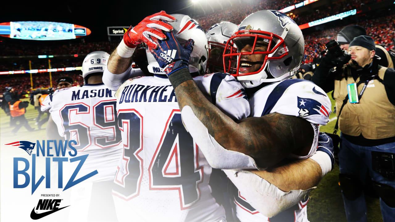 53a9cc09 News Blitz 1/21: A Patriots overtime gem in Kansas City