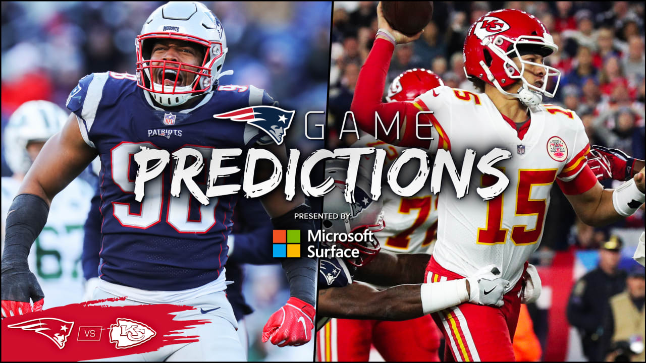 Game Predictions: Expert picks for Patriots at Chiefs