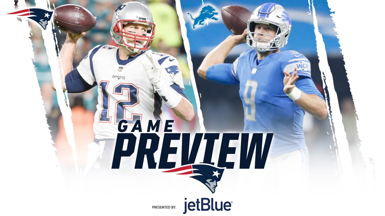 Top Game Preview: Patriots at Lions  hot sale