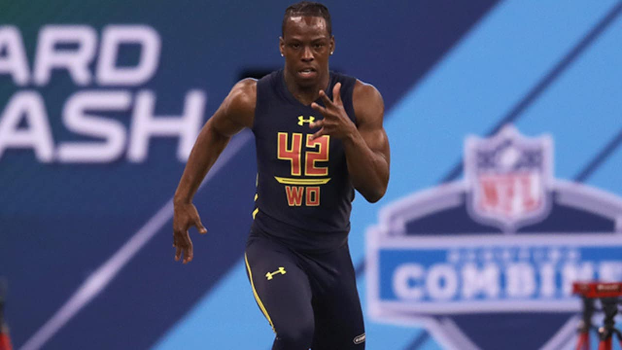 e631d753d50b John Ross breaks 40-yard dash combine record with 4.22 at NFL Scouting  Combine