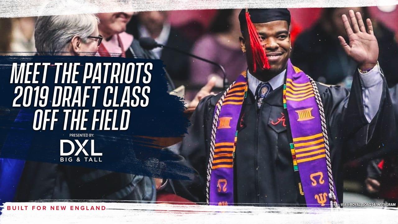 Meet The Patriots 2019 Draft Class Off The Field