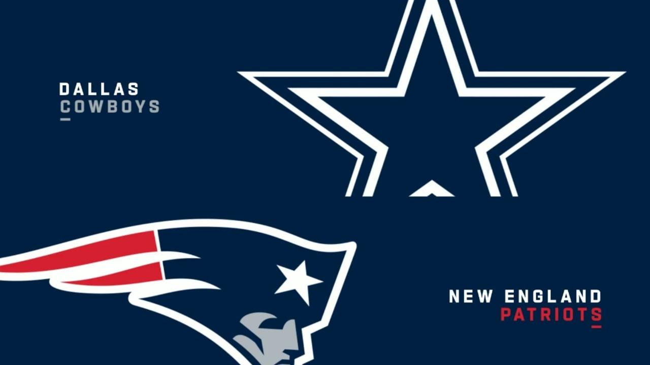 Cowboys Vs Patriots Highlights Week 12