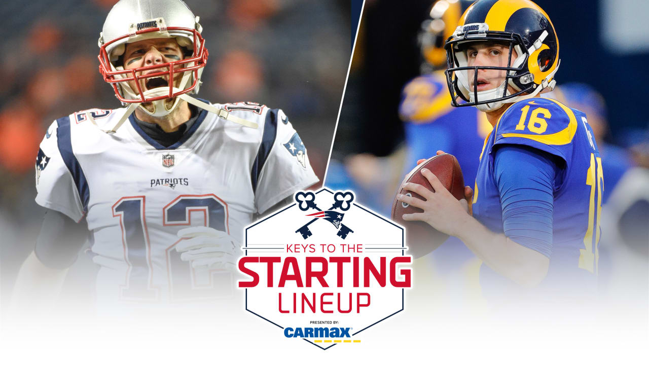 Keys to the Starting Lineup presented by CarMax  It s all on the line in Super  Bowl LIII f96638066