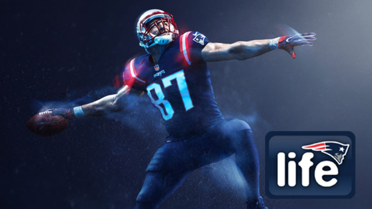 fb0fd7bf349 Check out the 2016 Patriots Color Rush Jerseys