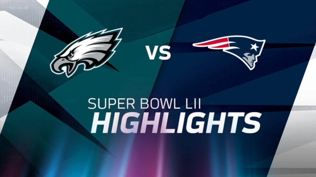 Philadelphia Eagles vs. New England Patriots highlights  Super Bowl LII b88c947d6