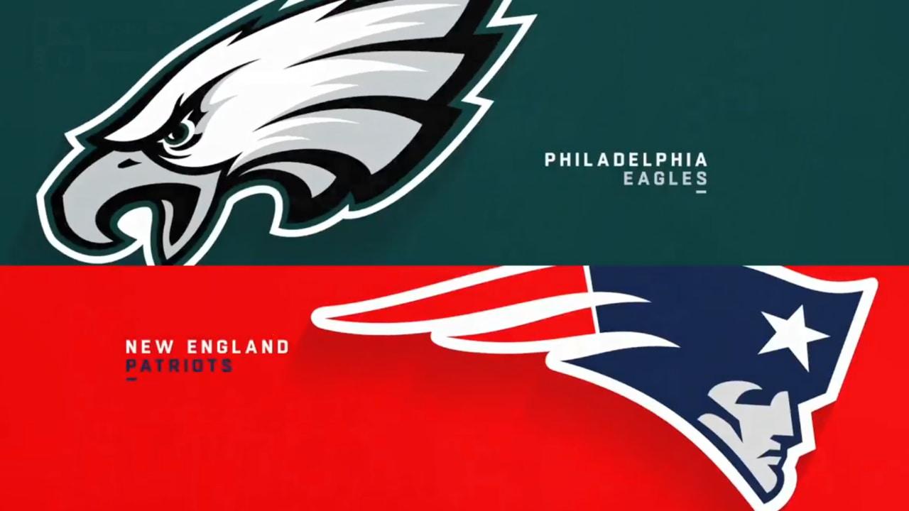 b3aff0d69 Eagles vs. Patriots highlights