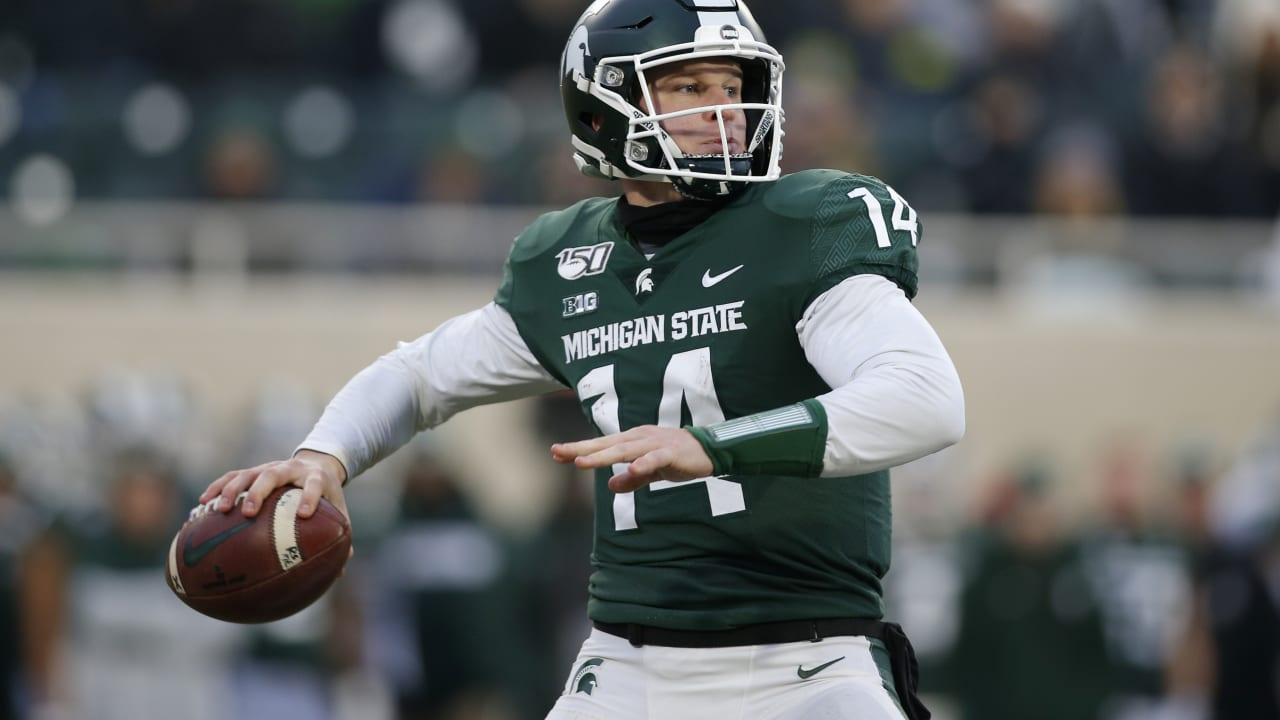 2020 Draft Prospects Brian Lewerke Qb Michigan State