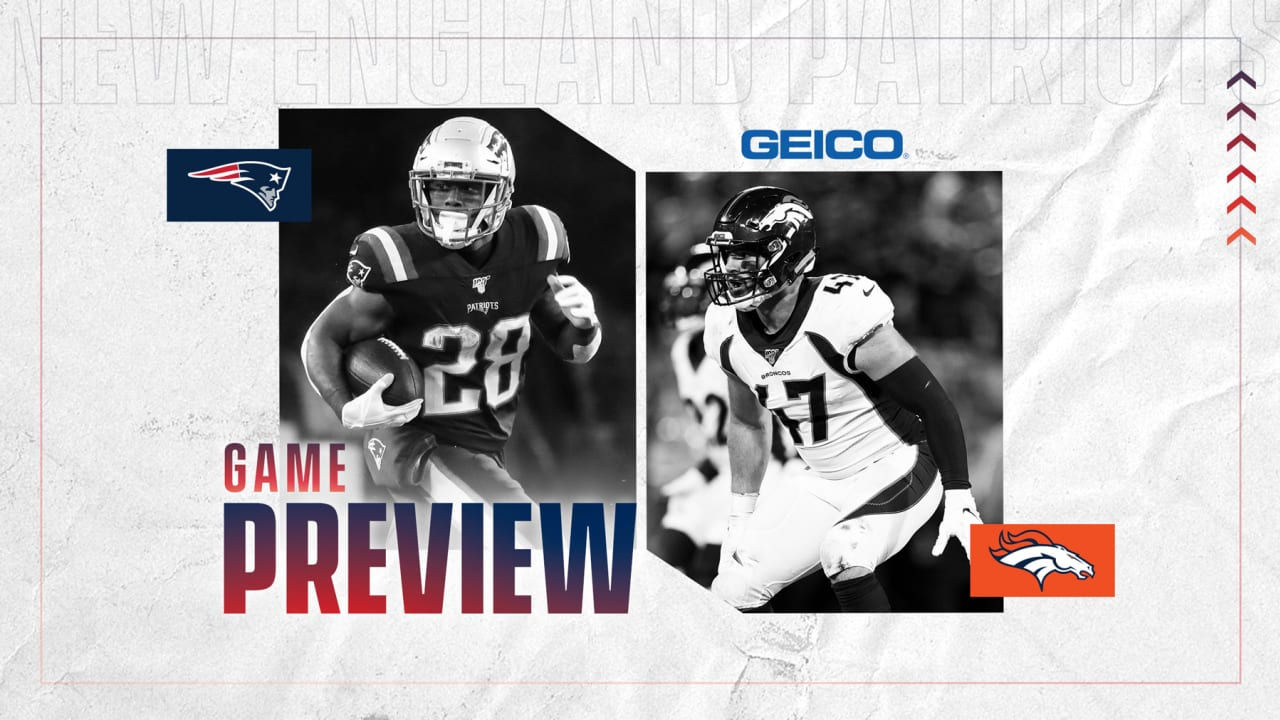 Nfl Week 6 Game Preview Denver Broncos At New England Patriots