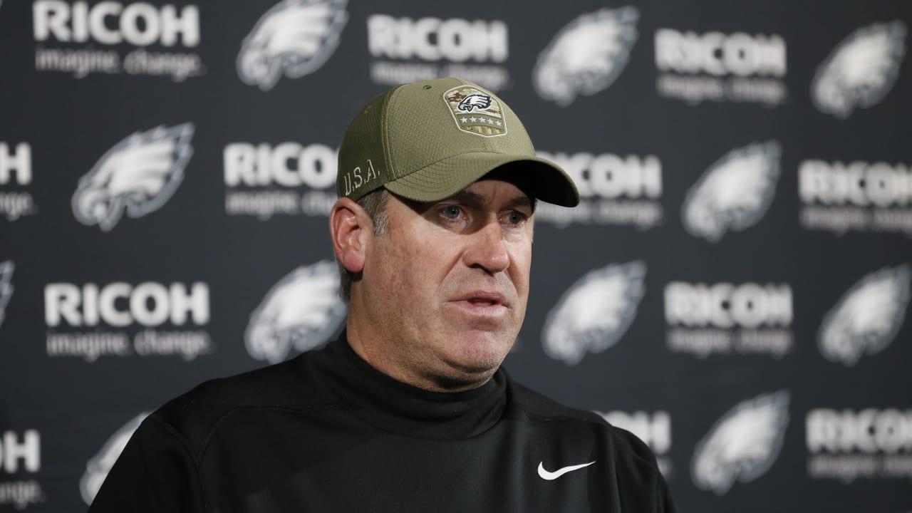 Philadelphia Eagles Postgame Quotes 11/17 - Patriots.com