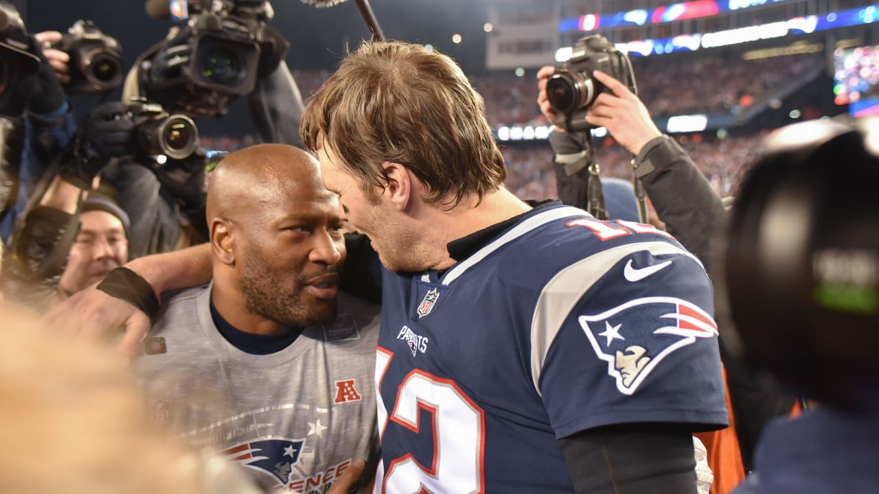 huge selection of e568c f11bb James Harrison says Tom Brady is the 'ultimate teammate'