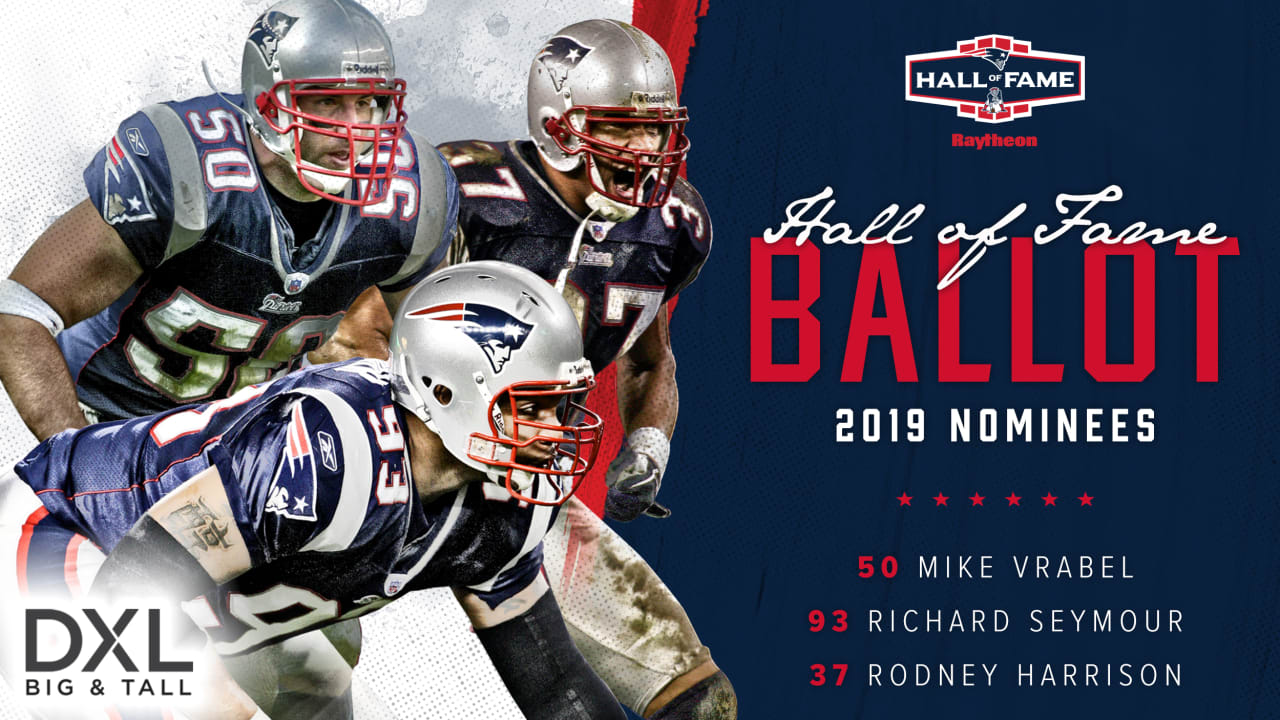 dcb489b2 Patriots Announce 2019 Hall of Fame Finalists