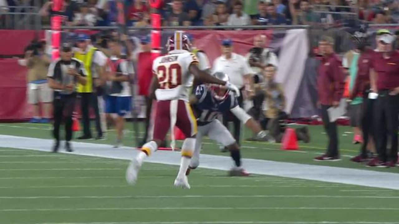 Highlight  Brian Hoyer to Devin Lucien for 22-yard gain 86fe484682601