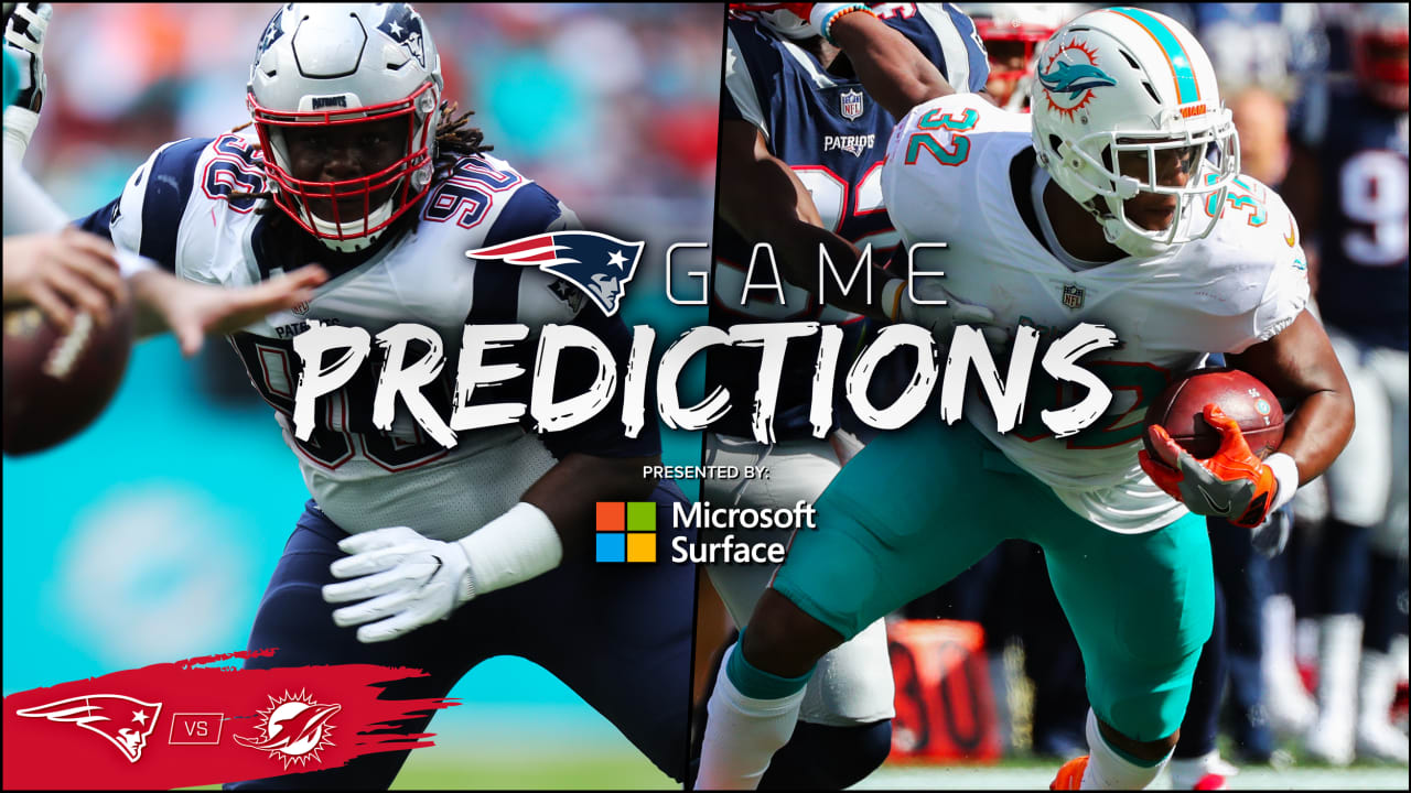 ab7c9426 Game Predictions: Expert picks for Patriots at Dolphins