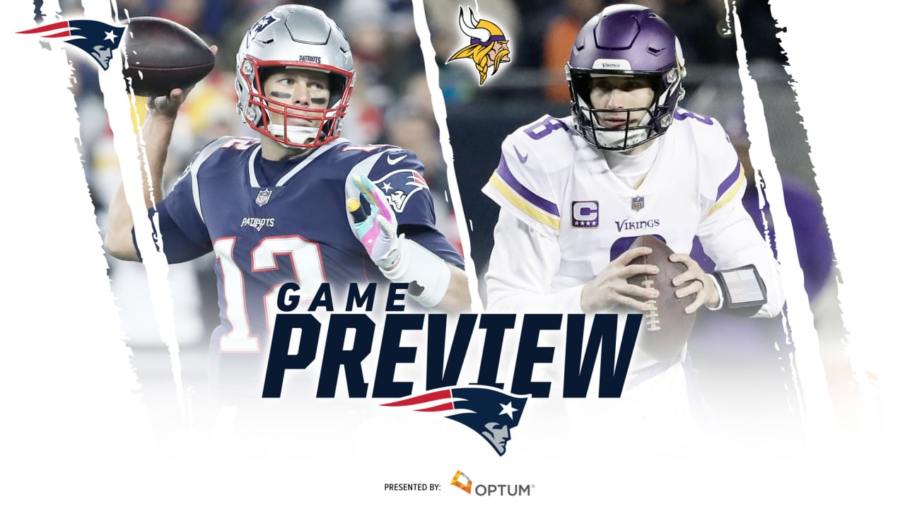 Image result for Patriots vs Vikings