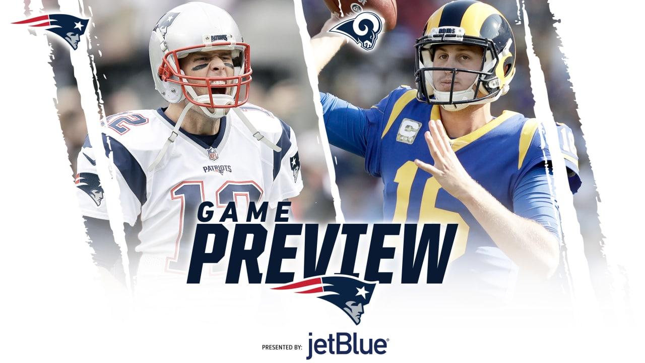 f30b8ab0a8d Super Bowl LIII Game Preview  Patriots at Rams