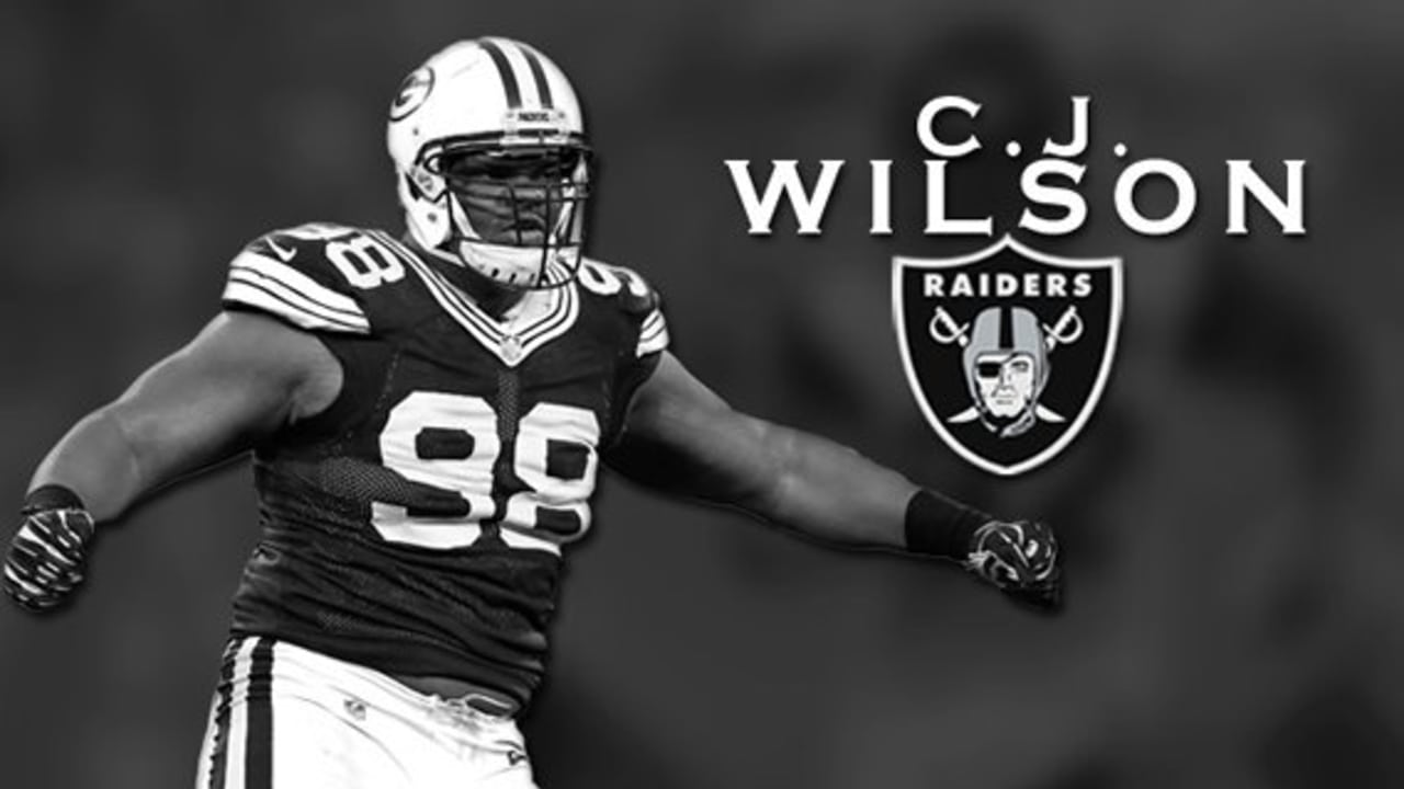 7e0910857 C.J. Wilson is Excited to Join the Raiders