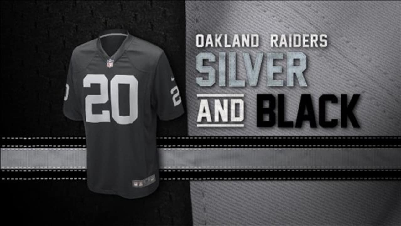 Top Evolution of the Raiders colors  supplier