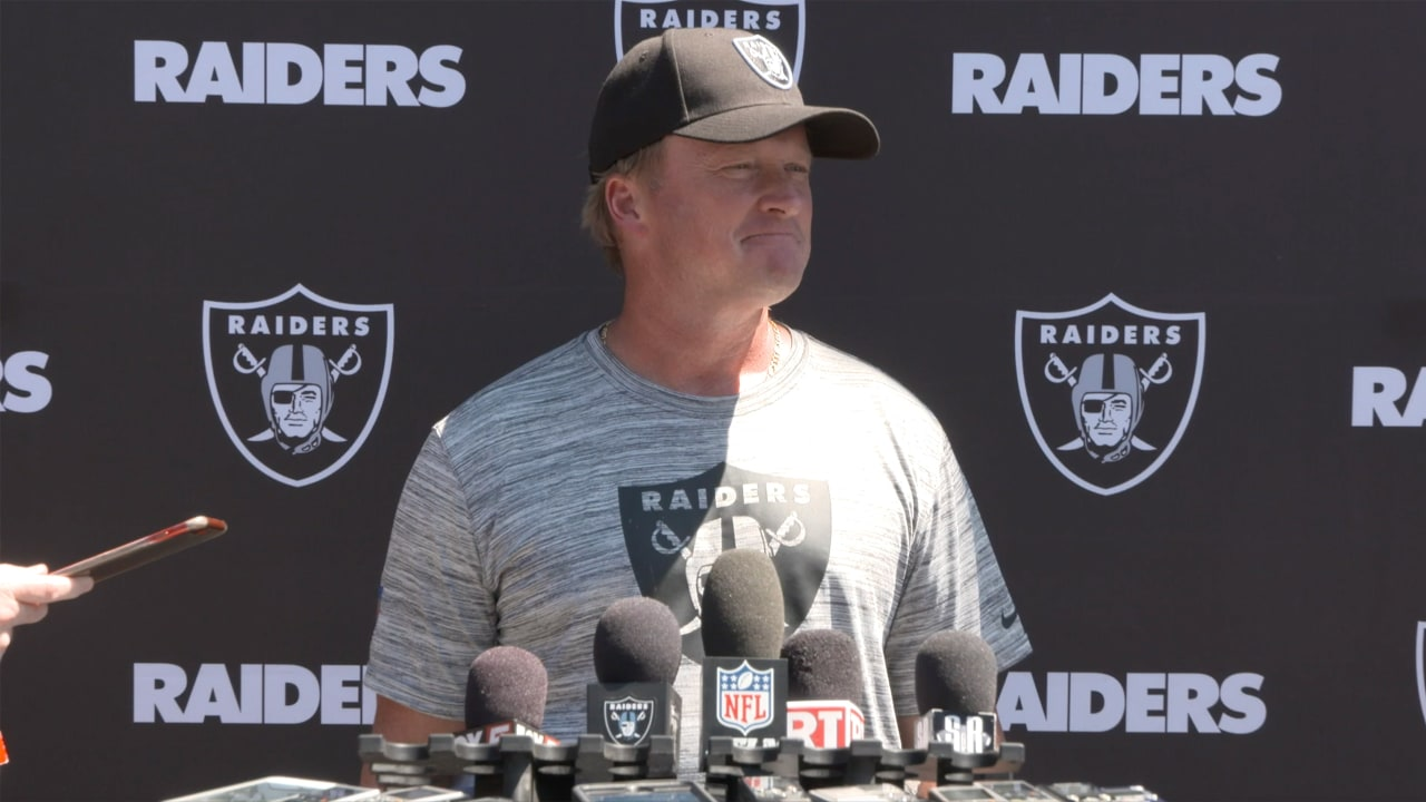 Coach Gruden opens up minicamp