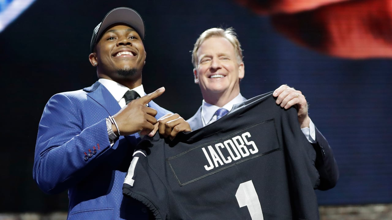 Raiders Select Rb Josh Jacobs No 24 In The 2019 Nfl Draft