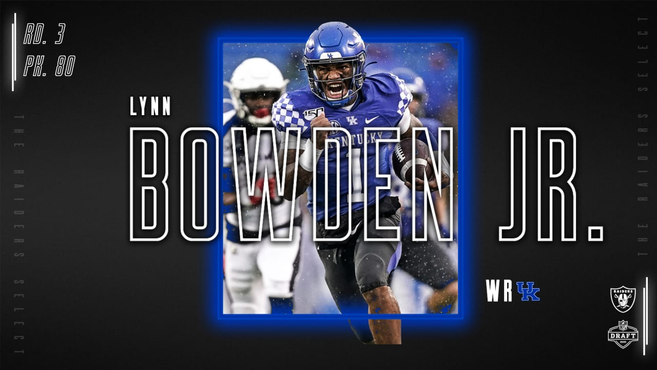 Raiders Select Running Back Lynn Bowden Jr 80th Overall In The 2020 Nfl Draft