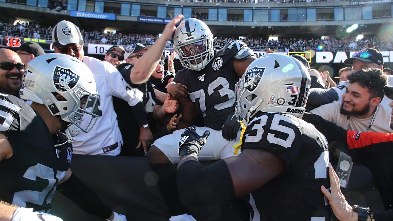 Six observations from the Raiders' Week 11 win over the Cincinnati Bengals - Raiders.com