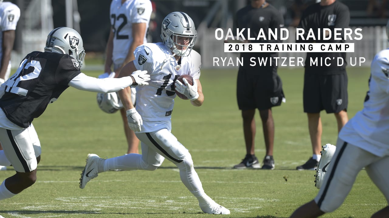3d93aa104 Mic d Up  Ryan Switzer at 2018 Training Camp