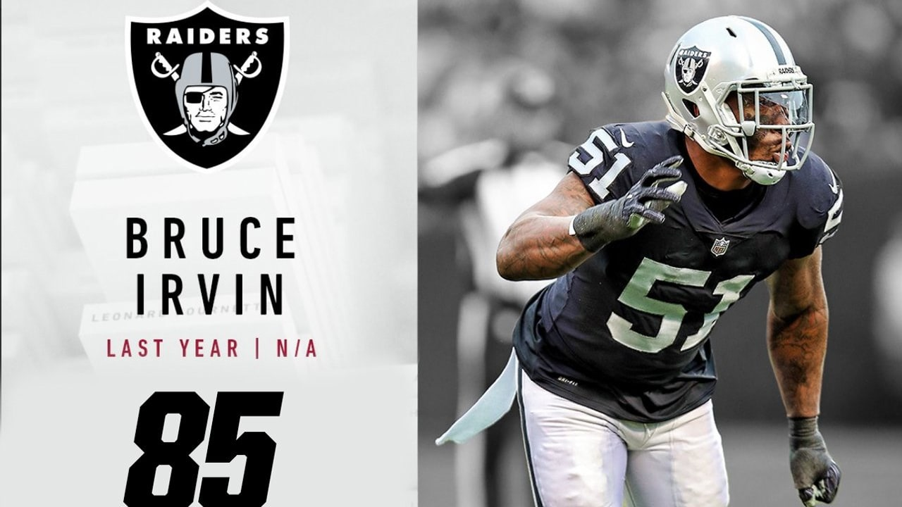 a5a32c479  Top 100 Players of 2018   Raiders LB Bruce Irvin