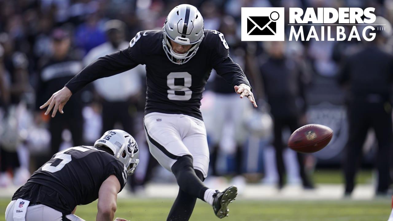 Raiders.com Mailbag  Have the Raiders found their kicker  1748d8a80