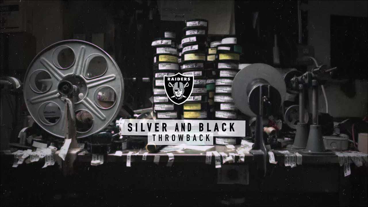 check out ffc65 1c183 Silver and Black Throwback: Superbowl XI