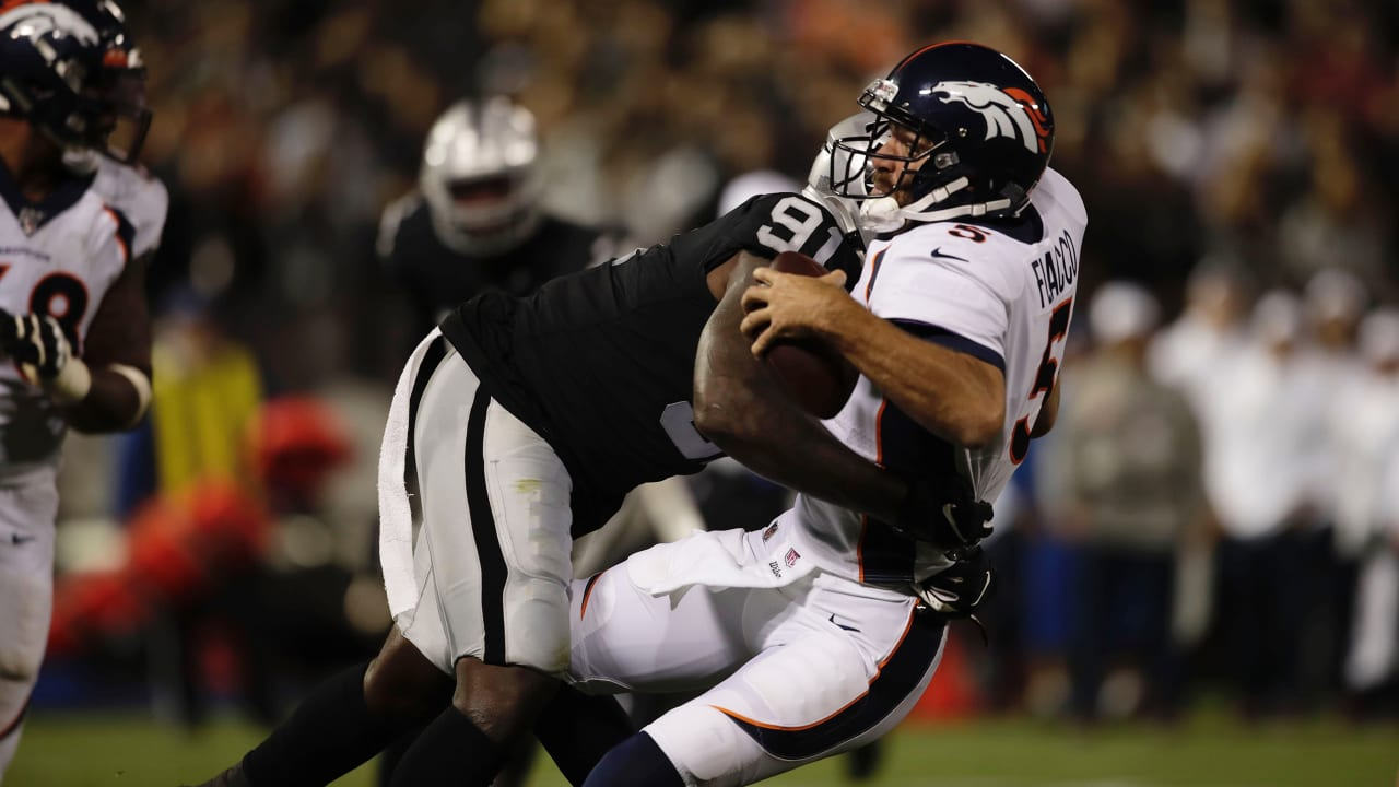 Image result for benson mayowa sack broncos