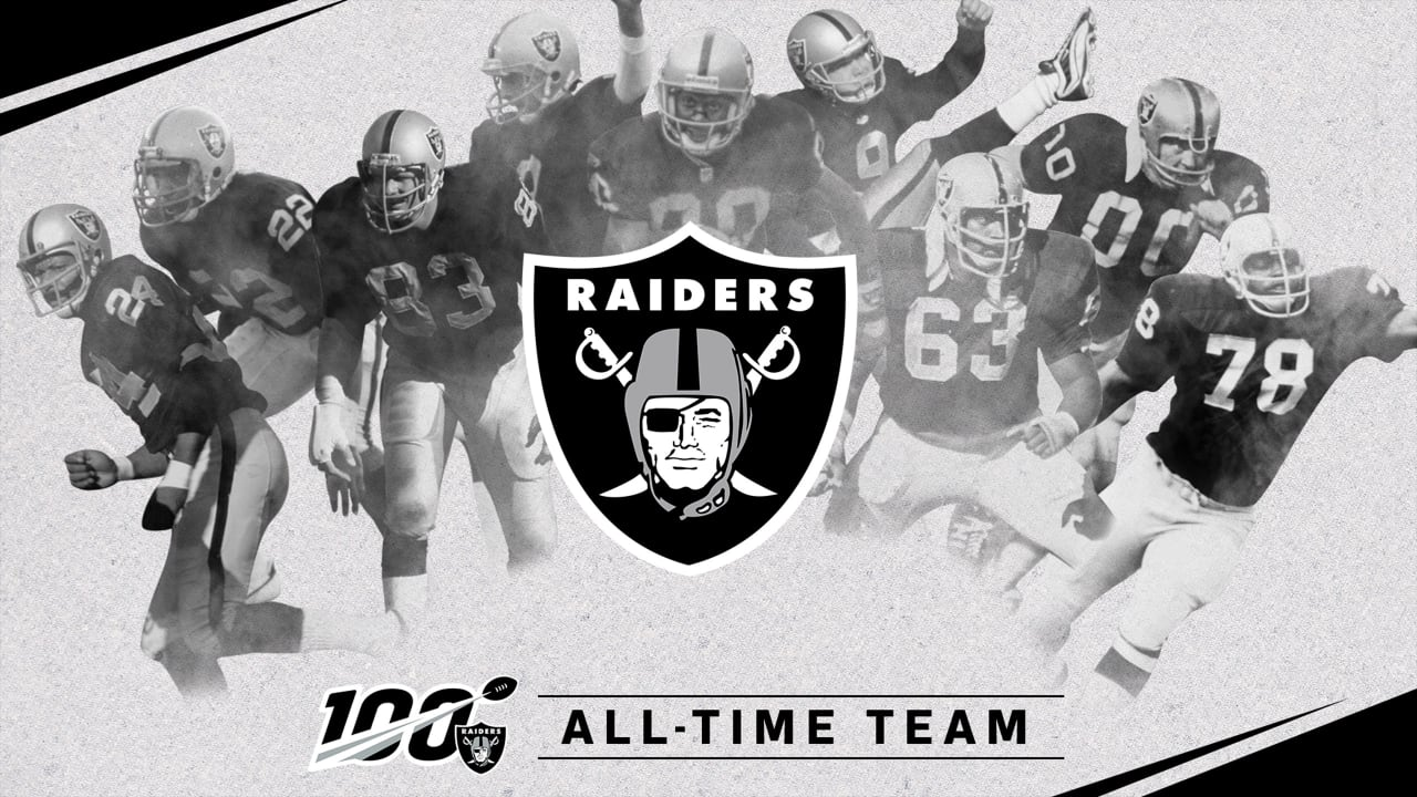 NFL 100 All-Time Team features long list of Raiders legends