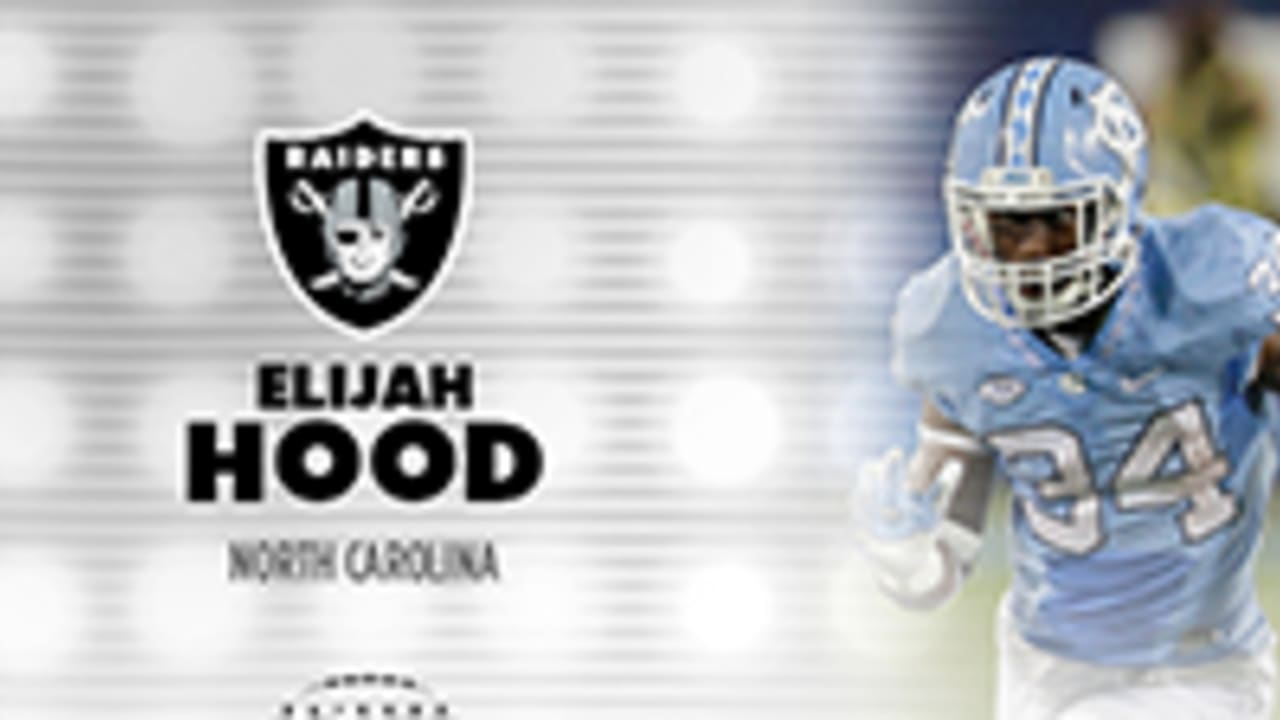 buy popular 320f1 f0726 Oakland Raiders Select Elijah Hood In Seventh Round Of 2017 ...