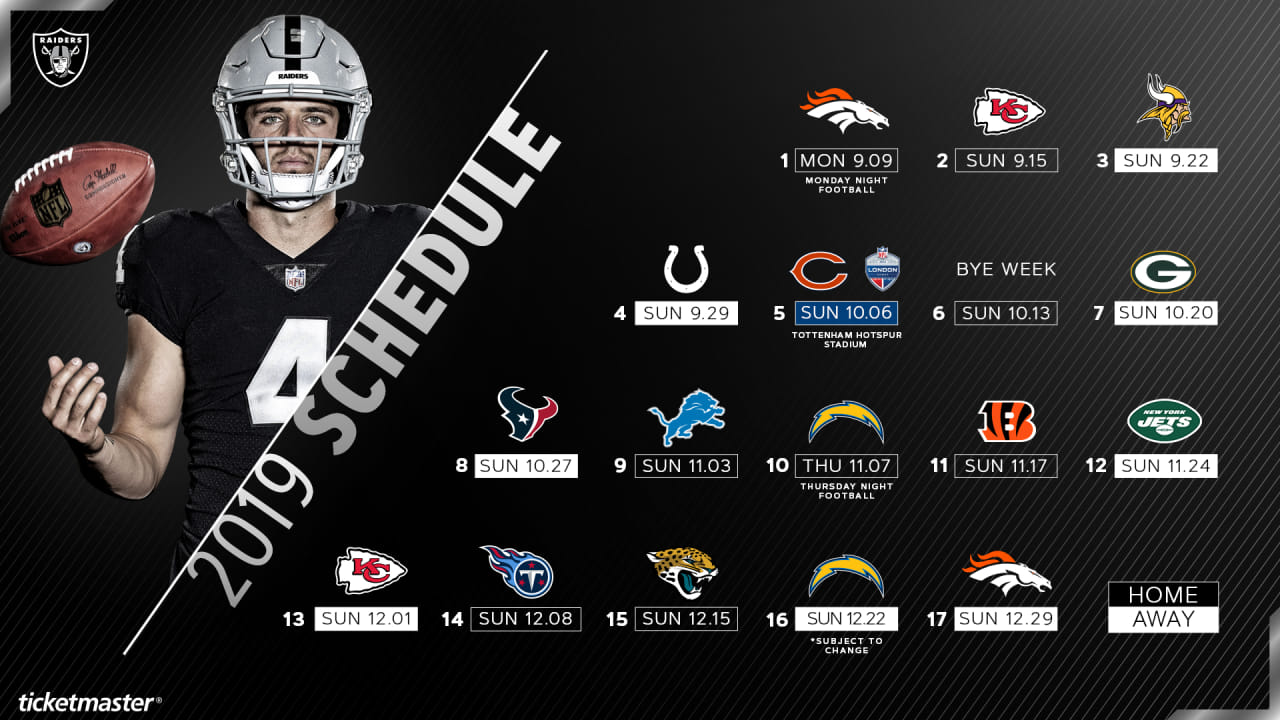 This is an image of Declarative Denver Broncos Schedule 2020 Printable