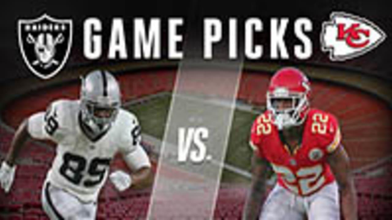 Expert Game Picks: Oakland Raiders vs  Kansas City Chiefs