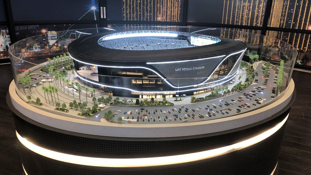 ee8a712e9 Las Vegas Stadium Model Time-Lapse