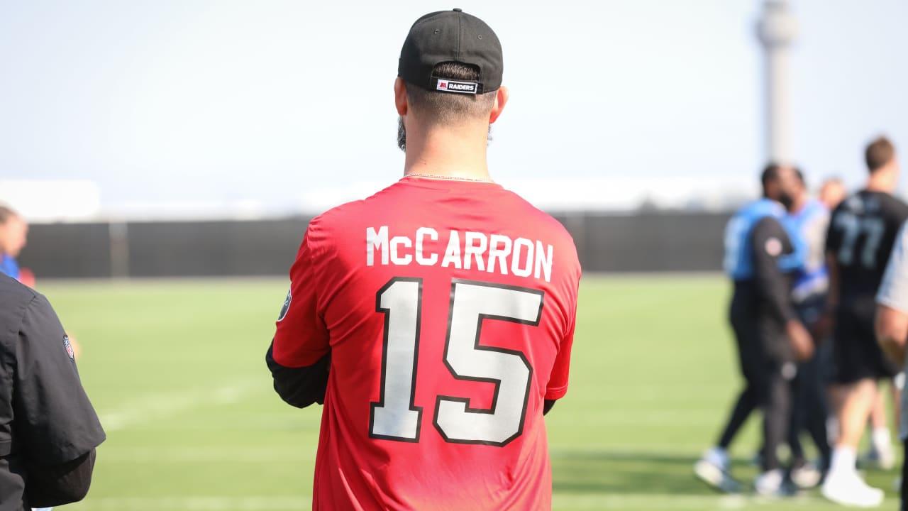 more photos 942b2 b4fdb Head Coach Jon Gruden discusses the addition of quarterback ...