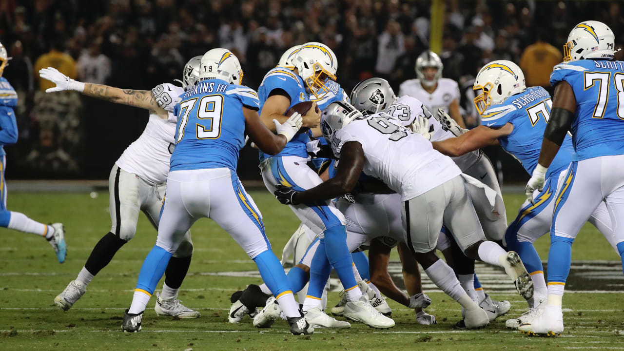 Image result for philip rivers sack 2019