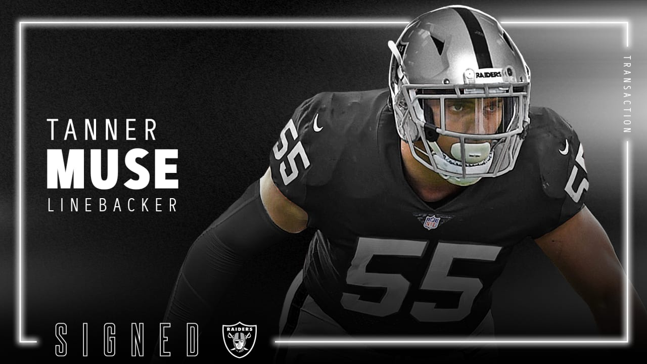 Tanner Muse signs Raiders deal, details reportedly emerge