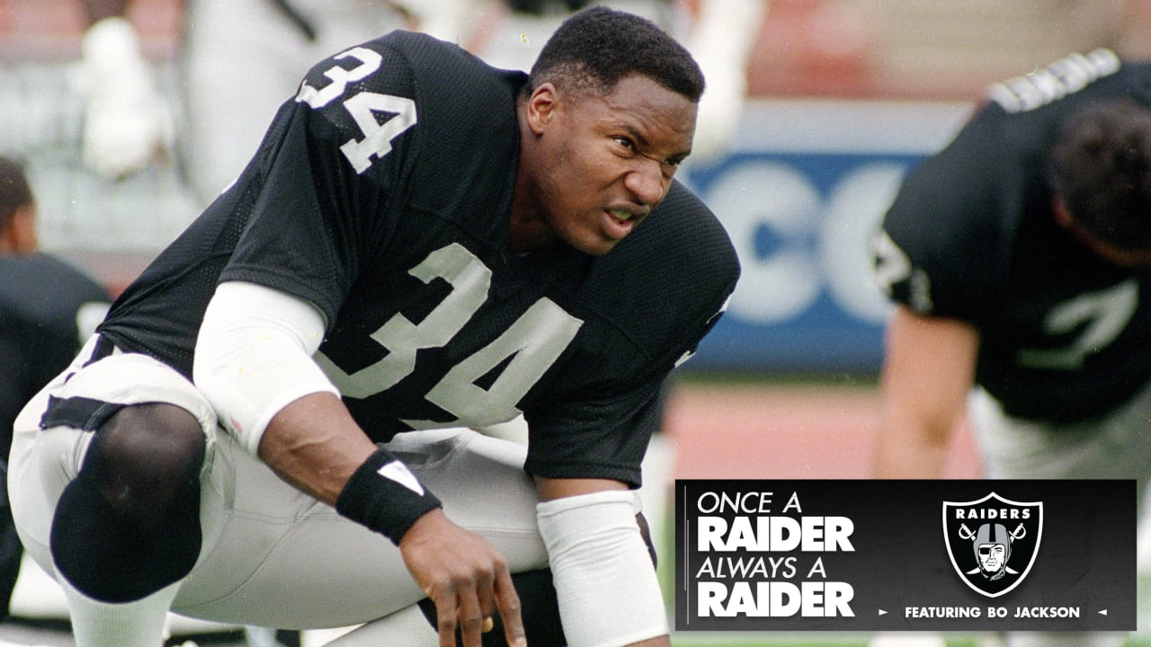 Once A Raider Always A Raider Bo Jackson