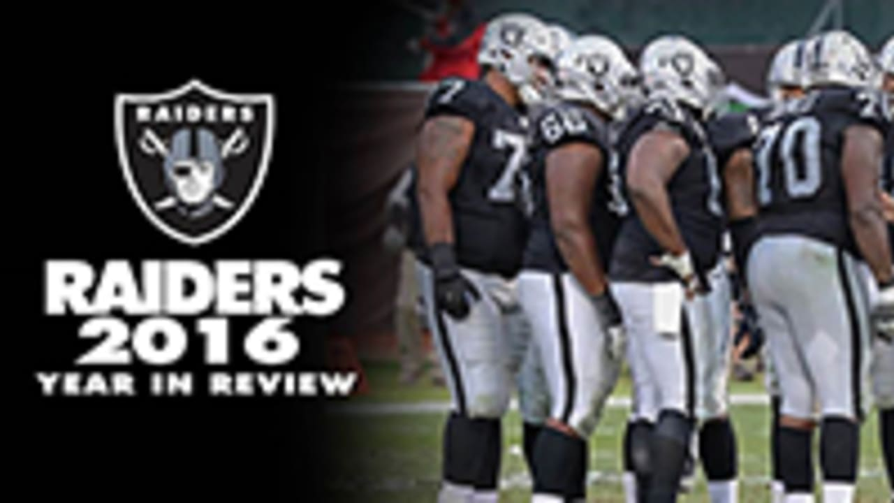 A Look Back The Oakland Raiders 2016 Year In Review