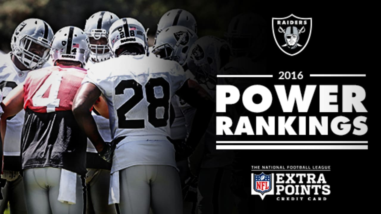 Oakland Raiders Power Rankings Week 11