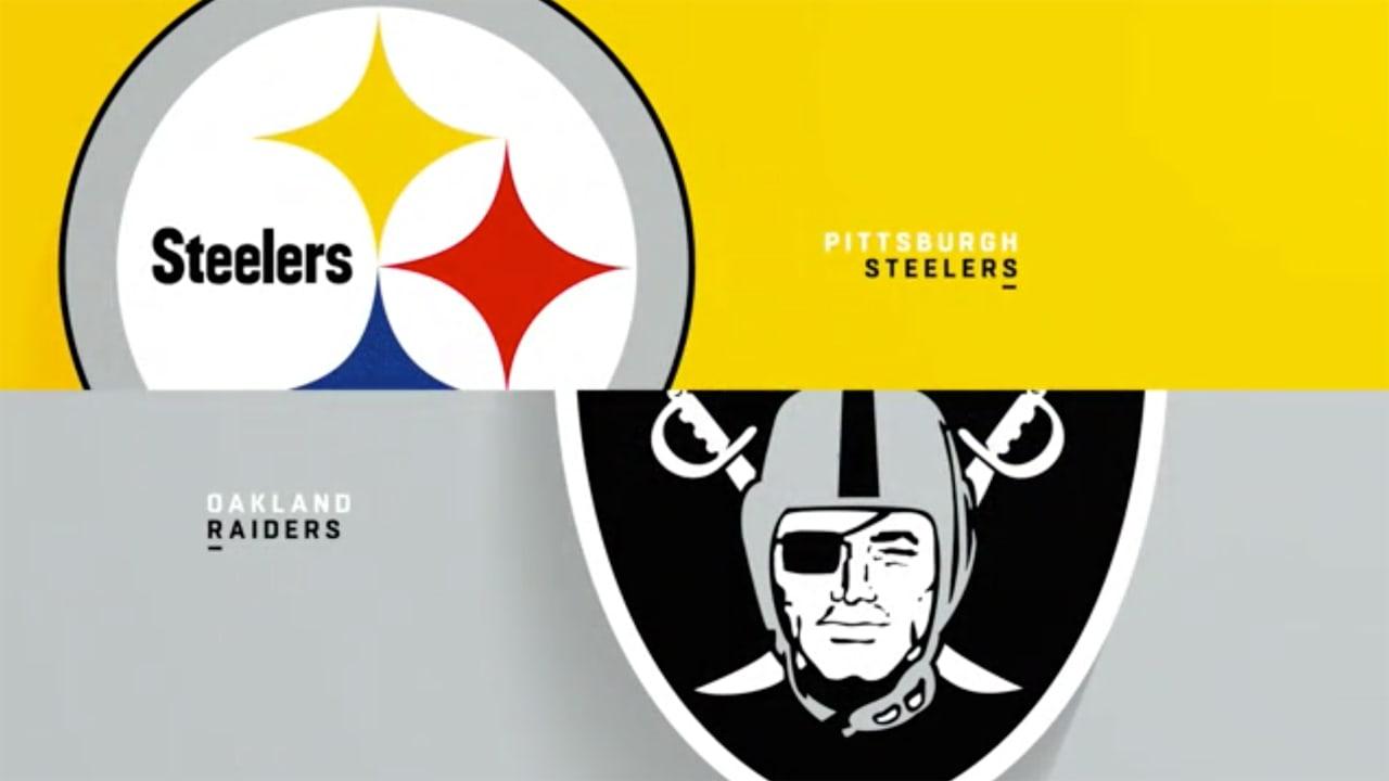 Raiders vs Steelers Pick & Preview