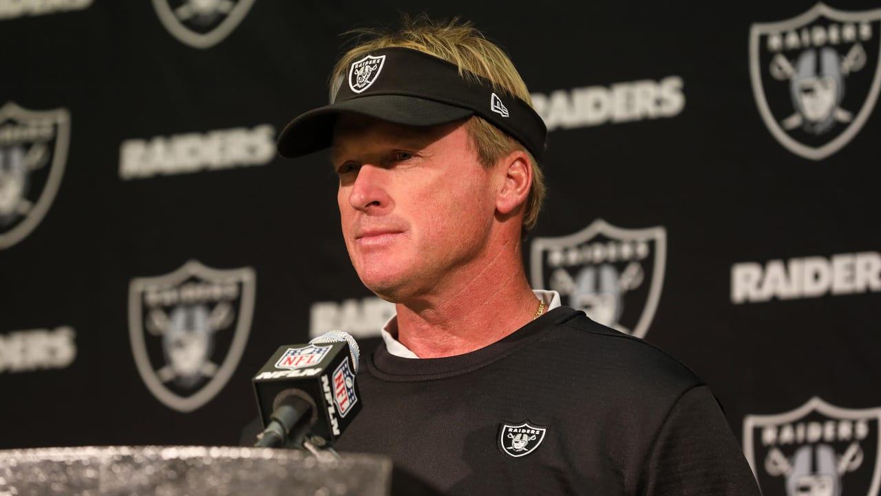 Coach Gruden Postgame Presser - Week 10 – 11.11.18