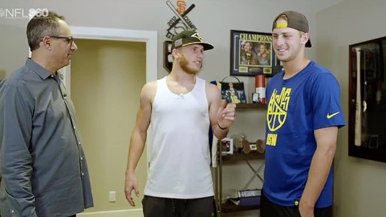 Nfl 360 Jared Goff And Cooper Kupp The Roommates