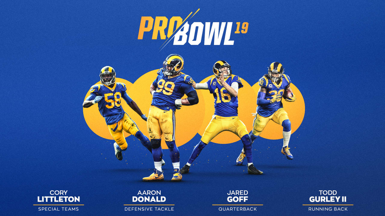 Four Rams Selected to 2019 Pro Bowl d724c1222