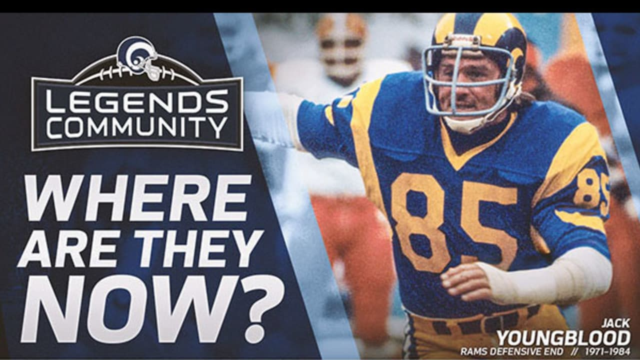on sale 78d37 4f56f Where Are They Now?: Jack Youngblood