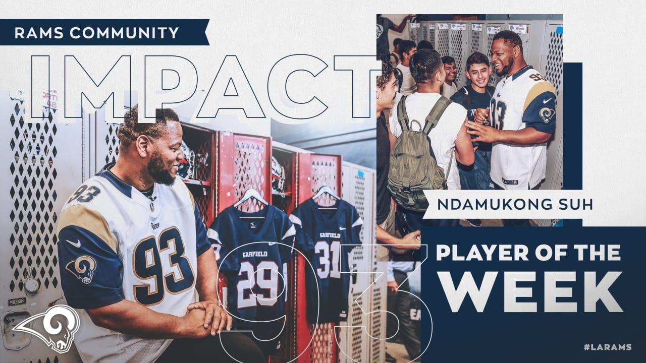 meet 99aca bea0e Community Impact Player of the Week: Ndamukong Suh