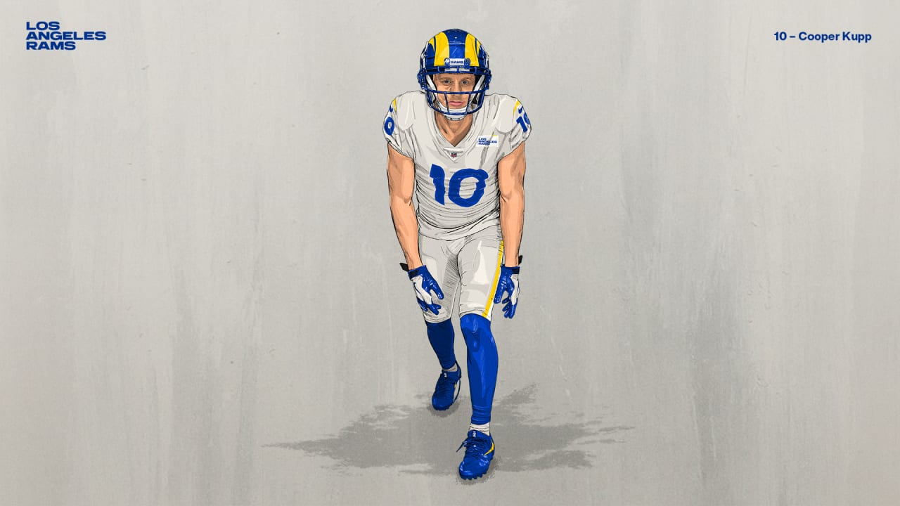 Rams Wr Cooper Kupp Swaps Jersey Number From 18 To 10